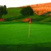 A view of a green at Saint Quentin Golf Club