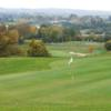A view of a green at Vire la Dathee Golf Club