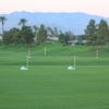 A view of the driving range at Mountain Vista Golf Club