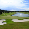 A sunny day view of a green at Glencoe Golf and Country Club