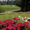 A view from a tee at Calgary Golf and Country Club