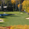 A view of a fairway at Calgary Golf and Country Club