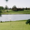 A view of a hole at McCall Lake Golf Course