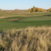 A view of green #14 from The Canal at Delacour Golf Club