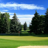 A view of a green at Canyon Meadows Golf and Country Club