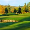 A view of hole #9 at Mountain View from Elbow Springs Golf Club