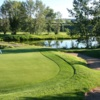 A view of a green at Valley Ridge Golf Course