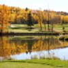 A fall view from Valley Ridge Golf Course
