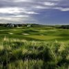 A view of a green at Heritage Pointe Golf Club