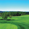 A view of a fairway at Priddis Greens Golf and Country Club