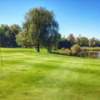 A view of a green at Parcours de golf Le Riviera