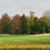 A fall view from a tee at Club de Golf Triangle D'Or