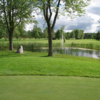 A view over the water from Club de Golf Rougemont