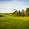 A view of a green at Club de Golf Le Victorien