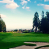 A view of a green at Westwood Plateau Golf and Country Club