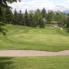A view of a green at Maple Ridge Golf Course