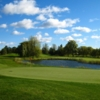 A view of a green with water coming into play at Ottawa Hunt and Golf Club