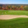 A view of a green at Mont Cascades Golf Club