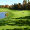 A view of a green at Greensmere Golf & Country Club