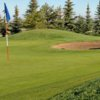 A view of a hole at Eagle Rock Golf Course