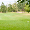 A view from a tee at Rundle Golf Course