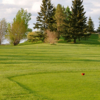 A view from a tee at Fort in View Golf Club