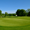 A view of a green at Nampont St Martin Golf Club