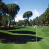 A view of a hole at Esterel Golf Club