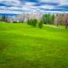 A view of fairway #1 at Hooper Golf Club