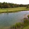 A view over the water from Highland Glen Golf Club