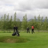 A view from Uthlid Golf Course