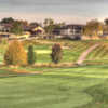 View of the clubhouse at Paint Creek Country Club