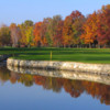 A view over the water from Royal Park Golf I Roveri