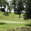 A view of green #9 at Hiawatha Golf Club