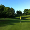 A view of a hole at Llantrisant and Pontyclun Golf Club