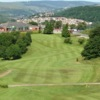 A view of a fairway at Pontypridd Golf Club