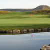 A view over the water from Rhondda Golf Club