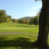 A view of the 2nd hole at Storm King Golf Club