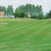 A view of a fairway at Grangemouth Golf Club