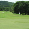 A view of the 9th green at Carambola Golf Club