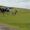 A view of a tee at Lagganmore Golf Club
