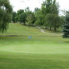 A view of a green at Shady Hills Golf Club