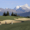 A view from Crans-sur-Sierre Golf Club