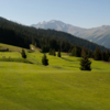 A view of fairway #2 at Les Esserts Course from Verbier Golf Club