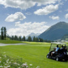A view from Engadin Zuoz-Madulain Golf Club