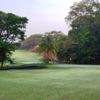 A view of a green at Lubumbashi Golf Club