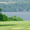 A view of a green at Bonavista State Park Golf Course