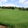 A view of the 1st green at Malaza Golf Club