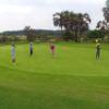 A view of a hole at Mangais Golf Club