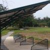 A view of the driving range tees at Royal Golf Club